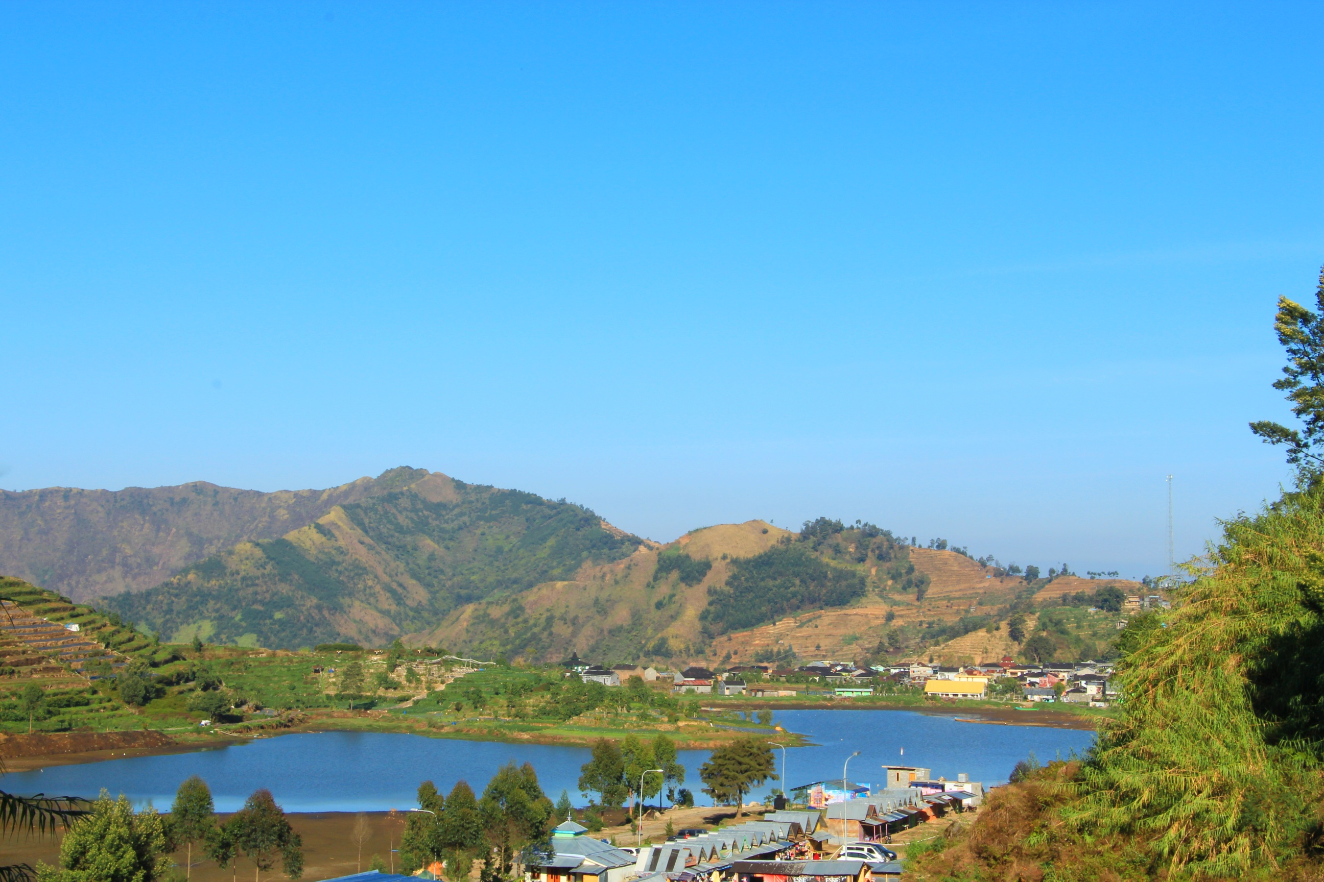 Image result for telaga cebong dieng
